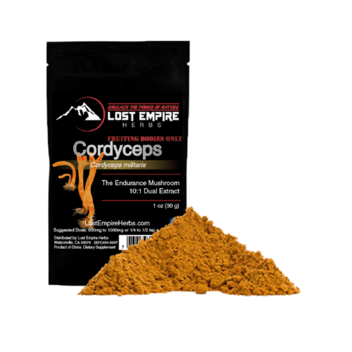 Cordyceps militaris dual extract powder