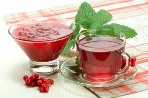 Schisandra Berry Tea and Iced Fruit Drink