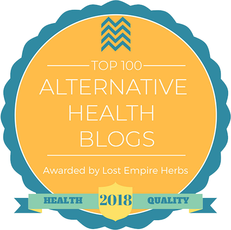 Top 100 Alternative Health Blogs in NJ awarded by Lost Empire Herbs